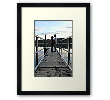 love love love, that is the soul of a genius. Framed Print