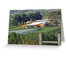 Home Hill Vineyard Greeting Card