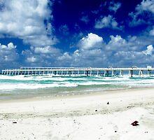 Fingal Boardwalk by melodyart