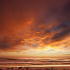 Pambula Beach Sunrise Panorama by Josh Boucher