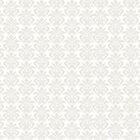 White Damask Pattern On Products by Vickie Emms