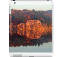 Early Morning Serenity George Lake iPad Case/Skin