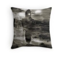 She Roams The Moors Throw Pillow