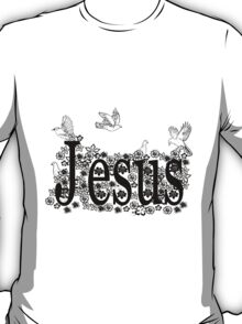 Jesus flower T-Shirt