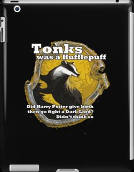 Tonks was a Hufflepuff by 1407graymalkin