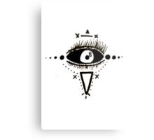 E Y E S  Metal Print