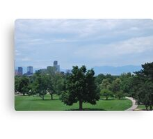 Downtown Denver  Canvas Print