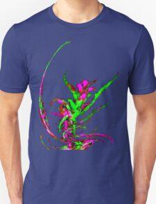 Fractal Fireweed Sprig T-Shirt