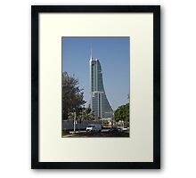 Bahrain Financial Harbour Framed Print