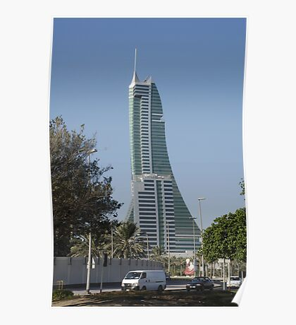 Bahrain Financial Harbour Poster