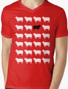 Black Sheep Mens V-Neck T-Shirt
