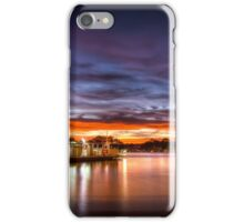 Sunrise ferry iPhone Case/Skin