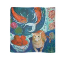 Beijing And The Koi Painting Scarf