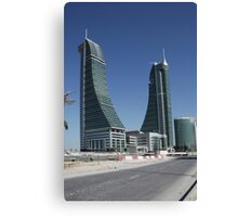 Bahrain Financial Harbour Canvas Print