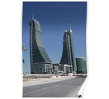 Bahrain Financial Harbour Poster