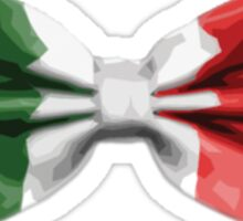 Italy Bow Tie Sticker