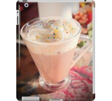 Hot Chocolate For A Cozy Night At Home iPad Case/Skin