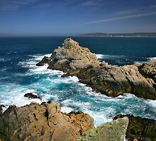 Pt Lobos Central Califronia Coast by photosbyflood