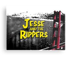 Jesse and the Rippers 90s Style Metal Print