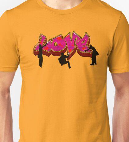 Graffiti Love Unisex T-Shirt