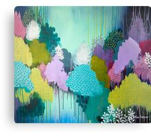 Autumn Meets Winter Canvas Print