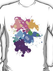 Colorful Splatter  T-Shirt