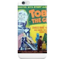 Tobor Retro Robot Space Age Design iPhone Case/Skin