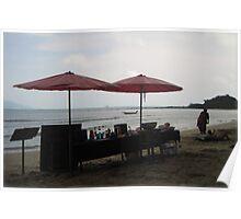 A BEACH Beach BAR Poster