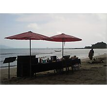 A BEACH Beach BAR Photographic Print