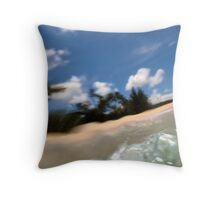 Underwater Distortion Throw Pillow