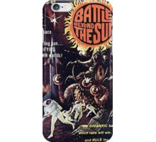 Battle Beyond The Sun Retro Sci Fi Design iPhone Case/Skin