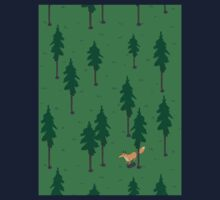 Fox in the woods. Kids Tee