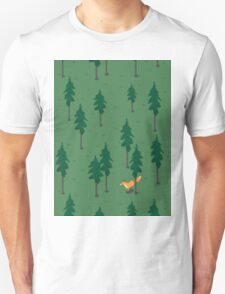Fox in the woods. T-Shirt