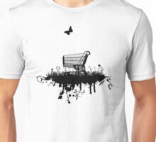 Abandoned Trolley (for light shirts and stickers) Unisex T-Shirt