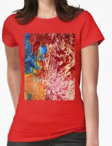 colour cool Womens Fitted T-Shirt