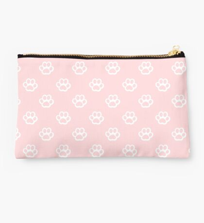 cute patterned paws Studio Pouch