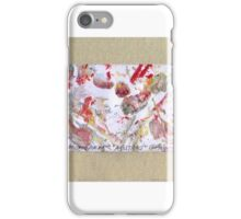 ABSTRACT MONOPRINT iPhone Case/Skin