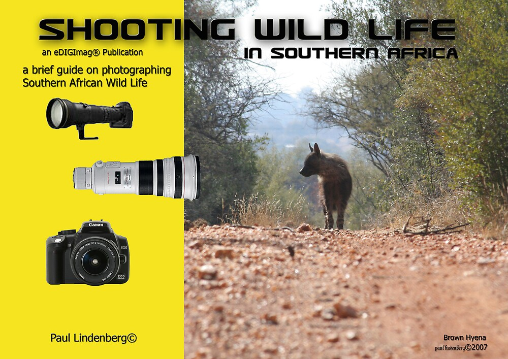 Shooting Wild Life - Book Cover by Paul Lindenberg