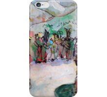 HEY WAIT UP(C2015)(ANALOG) iPhone Case/Skin