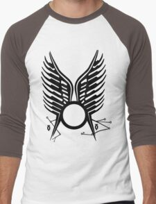Battlestar Galactica Wedding tatoo Men's Baseball ¾ T-Shirt