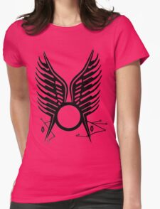 Battlestar Galactica Wedding tatoo Womens Fitted T-Shirt