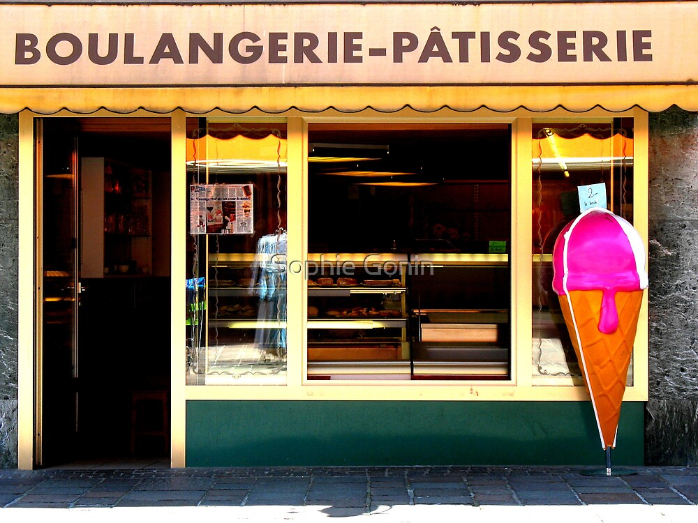 Boulangerie Patisserie by Sophie Gonin