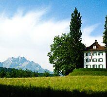 Richard Wagner House - Lucerne, Switzerland by Sophie Gonin