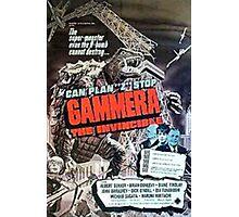Gamera Giant Monster Photographic Print