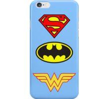 Superman, Batman, Wonder Woman - The Trinity iPhone Case/Skin