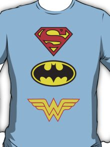 Superman, Batman, Wonder Woman - The Trinity T-Shirt