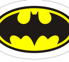 Superman, Batman, Wonder Woman - The Trinity Sticker