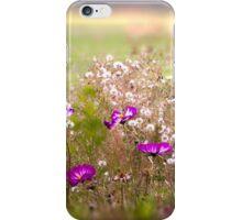 Meadow of Wild Flowers iPhone Case/Skin