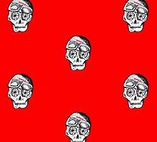 WnRn - Cafe Sugar Skull by wrenchNrideN