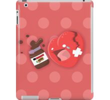 Broken heart needs chocolate iPad Case/Skin